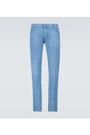 Thom Sweeney Slim-fit jeans