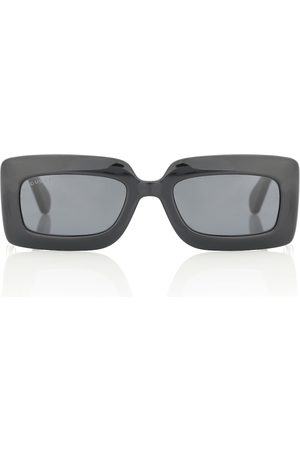 Gucci Double G rectangular sunglasses