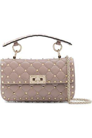 VALENTINO GARAVANI Naiset Käsilaukut - Rockstud quilted top-handle bag
