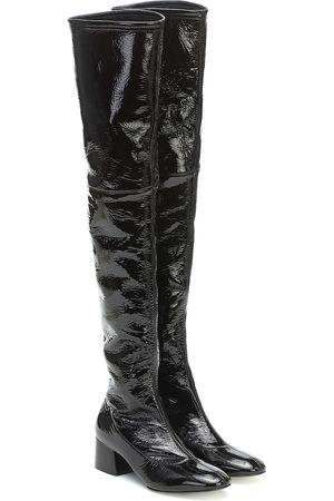 Khaite Sedona leather over-the-knee boots