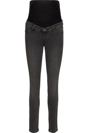 Lindex Trousers Denim Mom Clara Blac Jeans Mom Jeans Harmaa