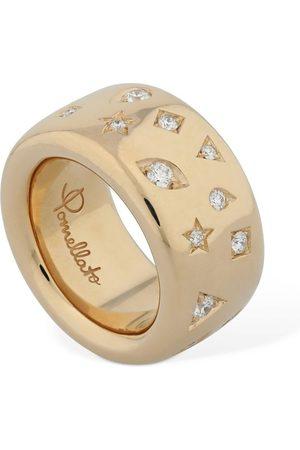 Pomellato Naiset Sormukset - Iconica 18kt & Diamond Ring