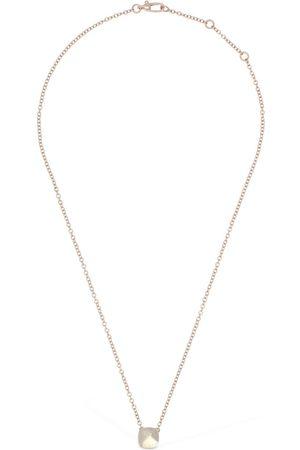 Pomellato Nudo 18kt Necklace W/ White Topaz