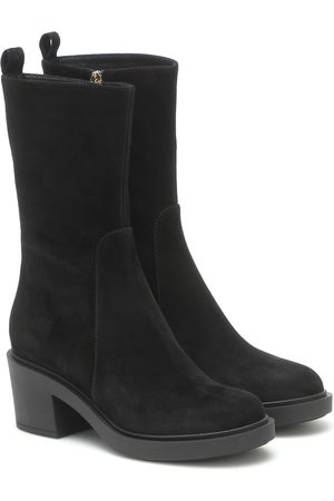 Gianvito Rossi Margeaux suede ankle boots