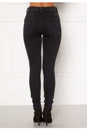 Vero Moda Naiset Skinny - Sophia HR Skinny Jeans Dark Grey Denim L/32
