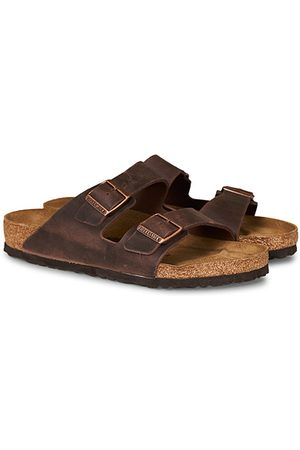 Birkenstock Miehet Sandaalit - Arizona Habana Oiled Leather