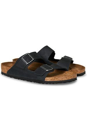 Birkenstock Miehet Sandaalit - Arizona Black Oiled Leather