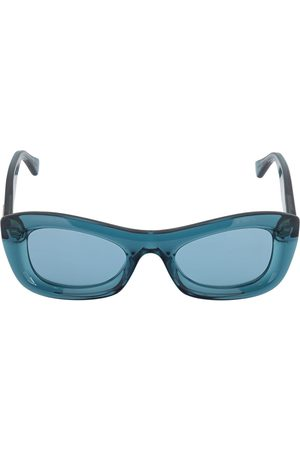 Bottega Veneta Bv1088s Rounded Acetate Sunglasses