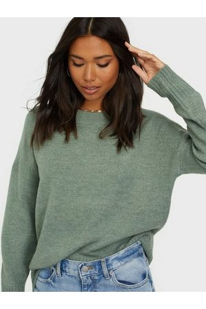 Only Onlnanjing L/S Pullover Knt Noos Balsam Green