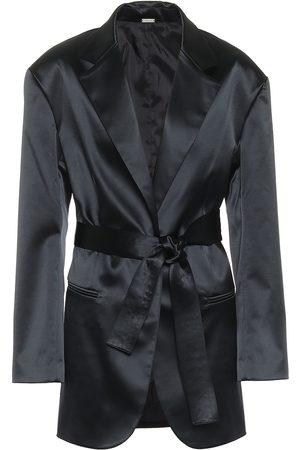 DODO BAR OR Satin blazer
