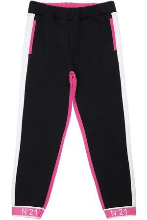 Nº21 Color Block Cotton Sweatpants