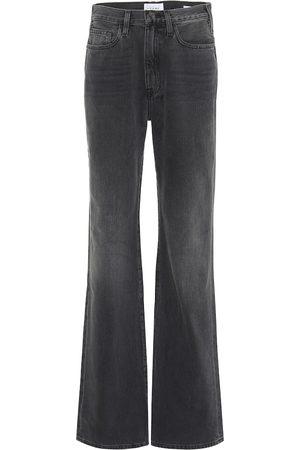 Frame Naiset Korkeavyötäröiset - Le Jane high-rise straight jeans