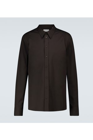 Bottega Veneta Broad collar long-sleeved shirt