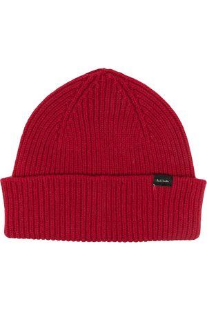 Paul Smith Miehet Hatut - Rib-knit beanie hat