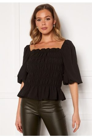 Pieces Asdia SS Top Black XL