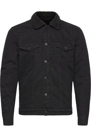 Only & Sons Onslouis Life Jacket Black Pk 3592 Noos Farkkutakki Denimtakki
