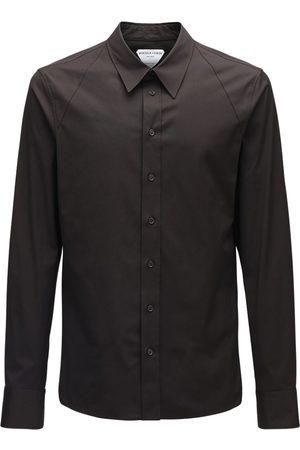 Bottega Veneta Miehet Paidat - Compact Stretch Cotton Poplin Shirt