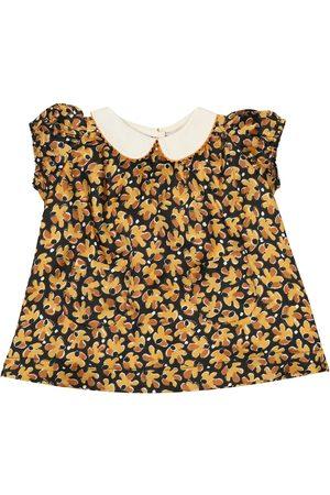 Caramel Baby Siskin dress and bloomers set