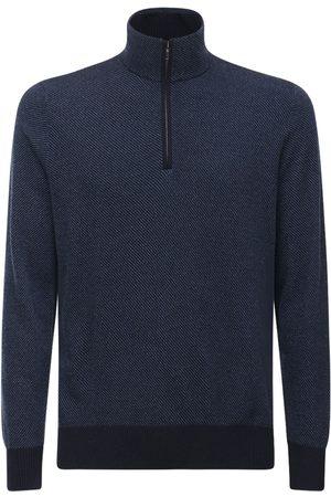 Loro Piana Roadster Mezzocollo Cashmere Sweater
