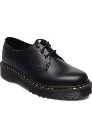 Dr. Martens 1461 Bex Black Smooth Shoes Business Laced Shoes