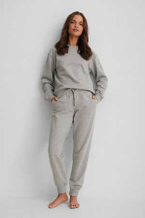 NA-KD Basic Sweatpants - Grey