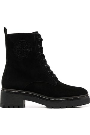 Tory Burch Naiset Nauhalliset saappaat - Lace-up leather boots