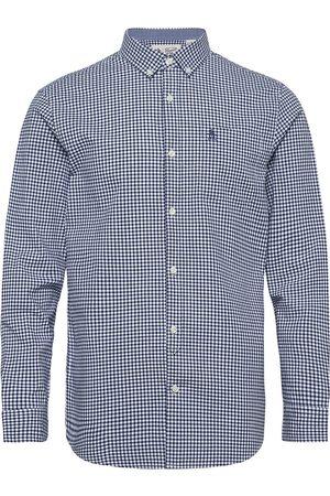 Original Penguin Long Sleeved Gingham Check Shirt Paita Rento Casual