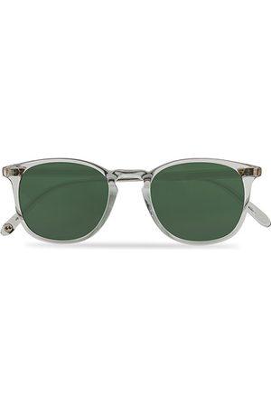 GARRETT LEIGHT Kinney 49 Sunglasses Transparent/Green