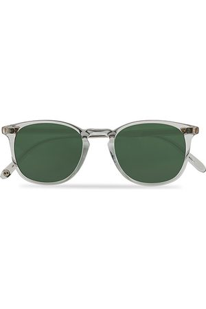 GARRETT LEIGHT Miehet Aurinkolasit - Kinney 49 Sunglasses Transparent/Green