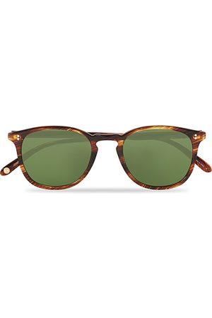 GARRETT LEIGHT Miehet Aurinkolasit - Kinney 49 Sunglasses Chestnut