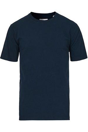 Colorful Standard Miehet T-paidat - Classic Organic T-Shirt Navy Blue