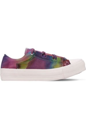 Pins & Needles Ghillie Dyed Cotton Canvas Sneakers