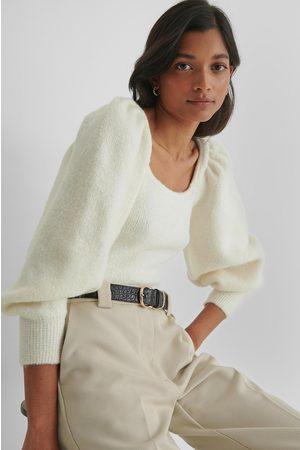 MANGO Miau Sweater - Offwhite