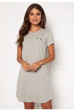 Calvin Klein S/S Nightshirt 020 Grey Heather L