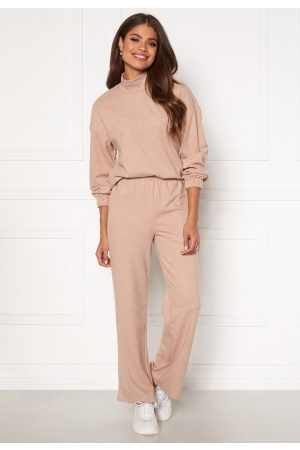 Pieces Renaise Wide Pant Lounge Warm Taupe S