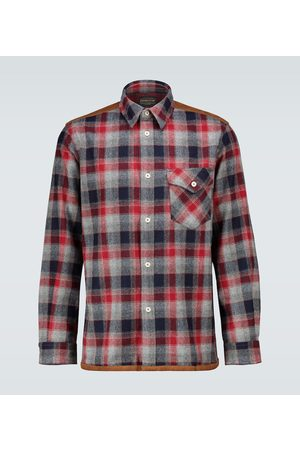 JUNYA WATANABE MAN eYe x Pendleton checked shirt