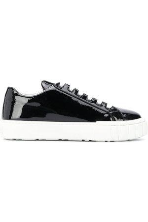 Miu Miu Naiset Tennarit - Patent leather sneakers