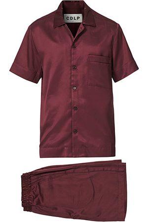 CDLP Home Suit Short Sleeve Burgundy
