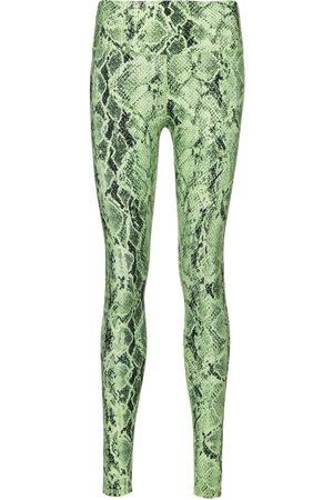 alo Naiset Leggingsit - Vapor snake-print leggings