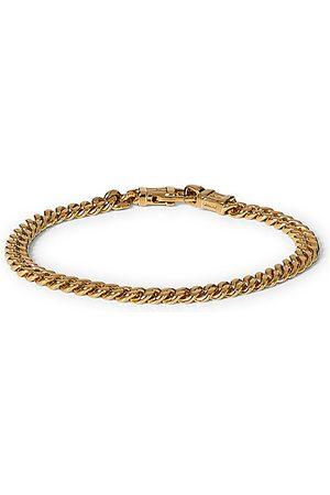 TOM WOOD Miehet Rannekorut - Curb Bracelet L Gold