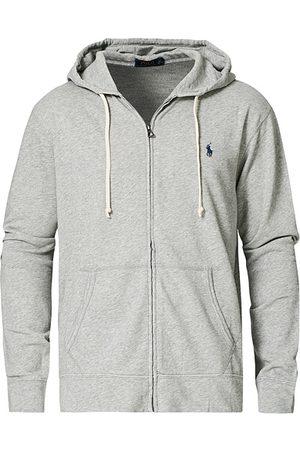 Polo Ralph Lauren Miehet Hupparit - Full Zip Hoodie Light Grey Heather
