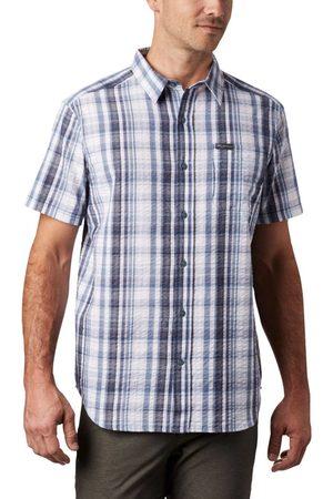 Columbia Miehet Lyhythihaiset - Men's Brentyn Trail Short Sleeve Seersucker Shirt L