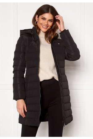 Tommy Hilfiger Naiset Untuvatakit - Quilted Down Coat BDS Black XS