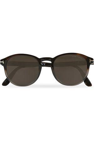 Tom Ford Miehet Aurinkolasit - Dante FT0834 Sunglasses Gradient Havana