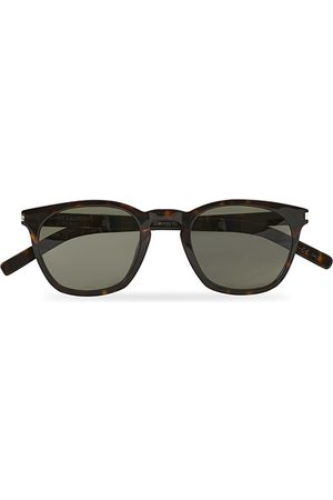 Saint Laurent Miehet Aurinkolasit - SL 28 SLIM Sunglasses Havana/Grey