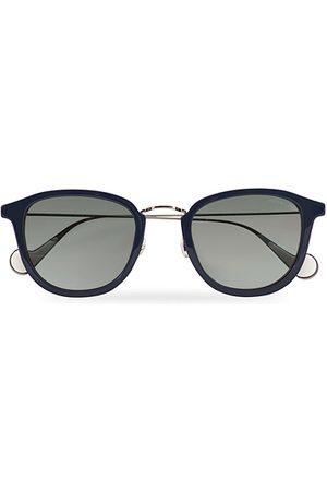 Moncler Lunettes Miehet Aurinkolasit - ML0126 Sunglasses Blue/Red