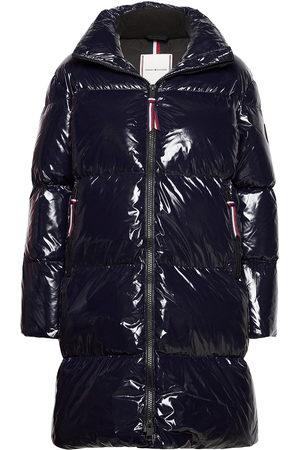 Tommy Hilfiger High Gloss Down Puffer Coat Topattu Pitkä Takki