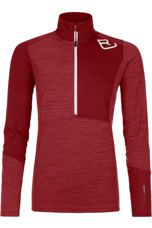 ORTOVOX Naiset Topit - Light Zip Neck Baselayer Top