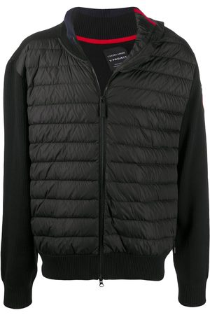 Y / PROJECT Naiset Untuvatakit - Contrasting sleeved puffer jacket