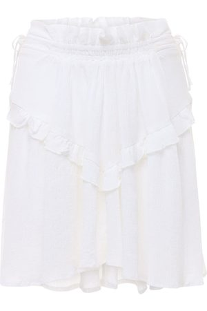 Isabel Marant Naiset Minihameet - Itelo Cotton & Viscose Mini Skirt
